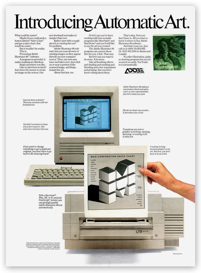 Adobe Illustrator Ad