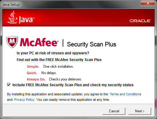 McAfee Offer