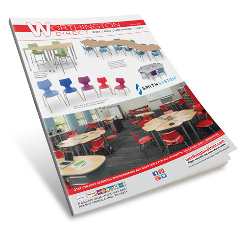 Printed catalog design, layout, production